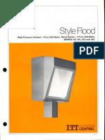 ITT American Electric Style Flood Series 63-64-163-164 Spec Sheet 2-79