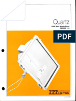 ITT American Electric Quartz 1500w Series 174 Spec Sheet 9-81