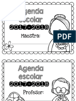 Agenda Ciclo Escolar 2017-2018