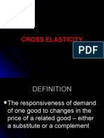 Cross Elasticity 1
