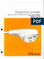 ITT American Electric Horizontal Luminaire Series 327 & 328 Spec Sheet 2-79