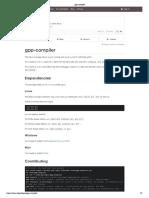 Gpp Compiler