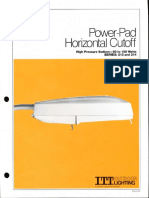 ITT American Electric Power-Pad Horizontal Cutoff Series 213 & 214 Spec Sheet 9-81