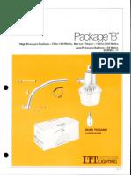 ITT American Electric Package B Dusk-To-Dawn Series 11 Spec Sheet 8-80