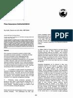 Flow Assurance Instrumentation