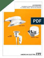 ITT American Electric Accessories Spec Sheet 3-72