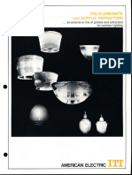 ITT American Electric Polycarbonate & Acrylic Refractors Spec Sheet 5-72