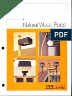 ITT American Electric Natural Wood Poles Spec Sheet 2-79