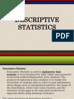 STAT Descriptive Stat1 Copy