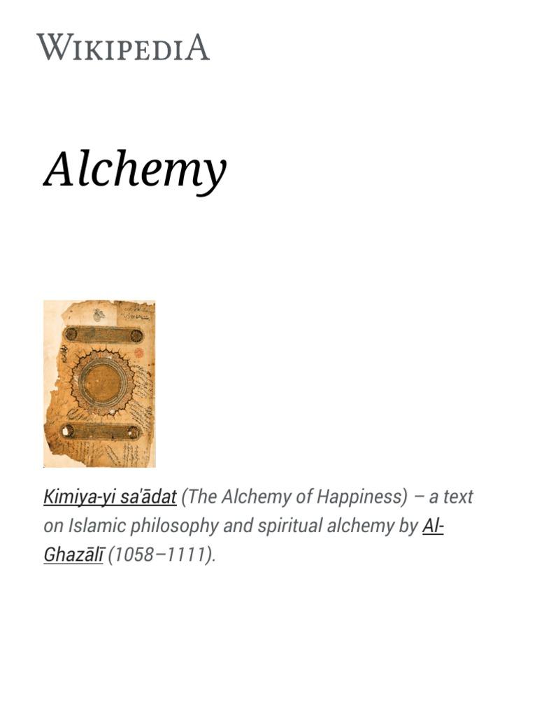 Alchemy wikipedia alchemy hermes trismegistus fandeluxe Gallery