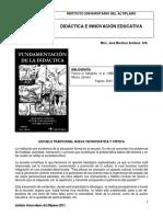 Margarita Pansza Fundamentacion de La Didactica