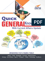 Quick General Knowledge 2017 With Current Affairs Update - Disha Experts
