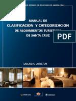 Decreto 2185 2009 Manual de Clasificacion y Categorizacion