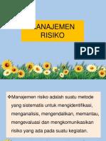 16. Manajemen Resiko Pelayanan Farmasi