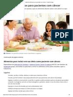 Melhores Alimentos Para Pacientes Com Câncer - HealthXchange