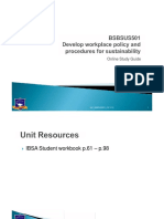 BSBSUS501_Online Study Guide