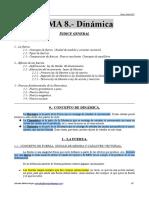 Apuntes Del Tema 8 (Dinámica)