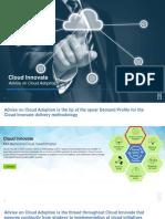 Cloud Innovate - Advise on Cloud Adoption