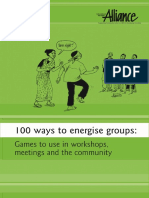 100 way to Energize a group