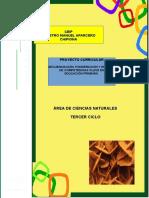 1.- Proyecto Curricular Ciencias Naturales 3º Ciclo Ceipmmaparcero