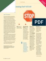 The STOP Method