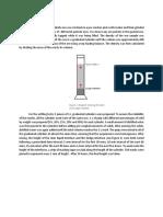 Sedimentation Methodology