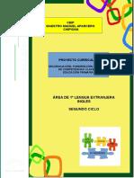 5.- Proyecto Curricular Ingles 2º Ciclo Ceipmmaparcero