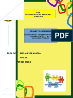 5.- Proyecto Curricular Ingles 3º Ciclo Ceipmmaparcero