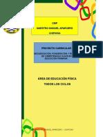 6.- Proyecto Curricular Educación Física Todos Ciclos Ceip Mmaparcero