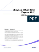 Exynos 4 Dual 32nm User Manaul Public REV100-0