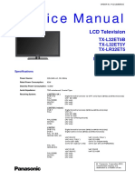 TX-LR32ET5 Tb Tem Esquema TNPA5587 Tcon
