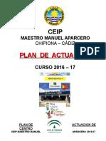 Plan de Actuación Del Centro 2016-17