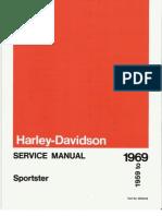 1959-1969 Harley Davidson Sportster Service Manual