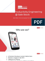 FB Dc Jakarta Front-End Productivity Engineering 0B Sale Stock
