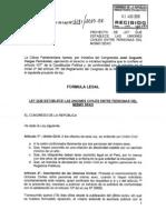 PL 04181 Uniones Homosexuales