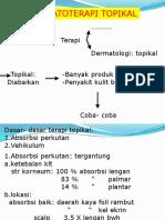 dermatoterapi topikal