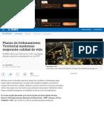 Departamento Nacional de Planeación y Los Planes de Ordenamiento Territorial Modernos - Novedades Te