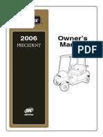 2006 Precedent Owner Manual
