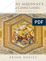 Brian Davies Thomas Aquinas's Summa Contra Gentiles a Guide and Commentary