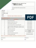 Lista de Verificación Labores Diarias Rev B