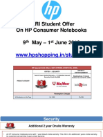 Student Offers for XLRI