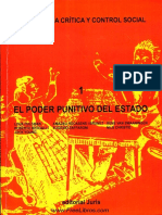 ZAFFARONI, Eugenio Raúl Et Al. Criminología Crítica y Control Social, Vol. I - El Poder Punitivo Del Estado