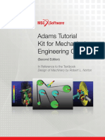 Adams Tutorial Kit for Mechanical Engineering Courses