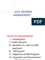 POLICE  RECORDS  MANAGEMENT.pptx