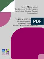 Teatro y representación.