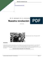 Michaloux, Charles. Sabado, François. Nuestra Revolución Rusa