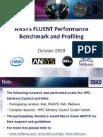 Fluent Analysis Intel