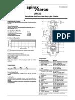 LRV2S Válvulas Redutoras de Pressão de Ação Direta-Technical Information