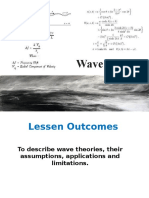 2.2. Wave Theories