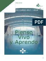 Plan de Trabajo Curso 2017-18 Plan Educativo Pastoral